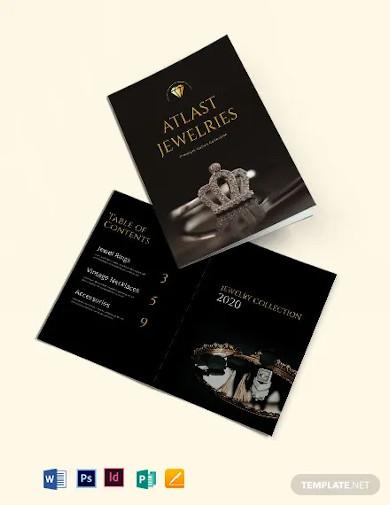 fashion jewelry catalog template