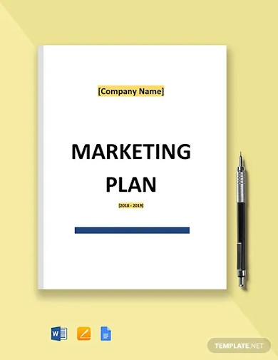 free basic it marketing plan template