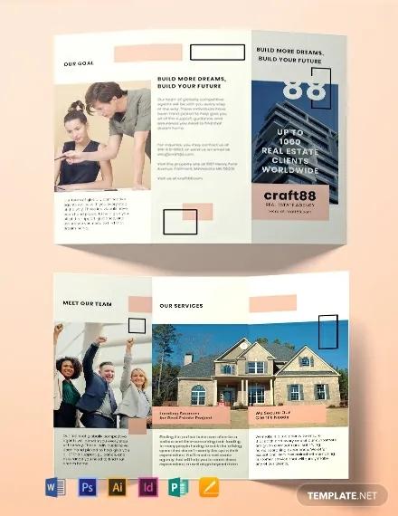 free real estate agency brochure template