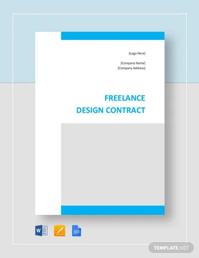 freelance design contract template