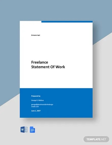 freelance statement of work template