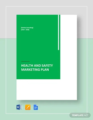 health and safety marketing plan template