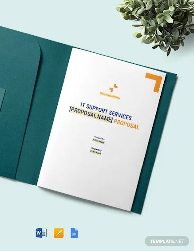 it support services proposal template