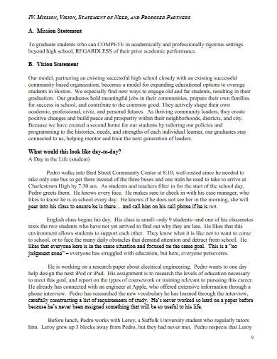innovation school proposal