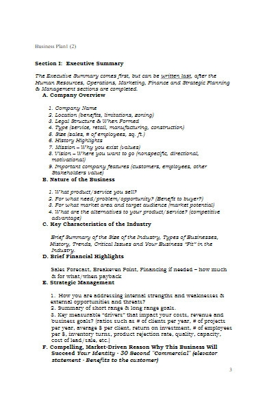 insurance business plan in pdf