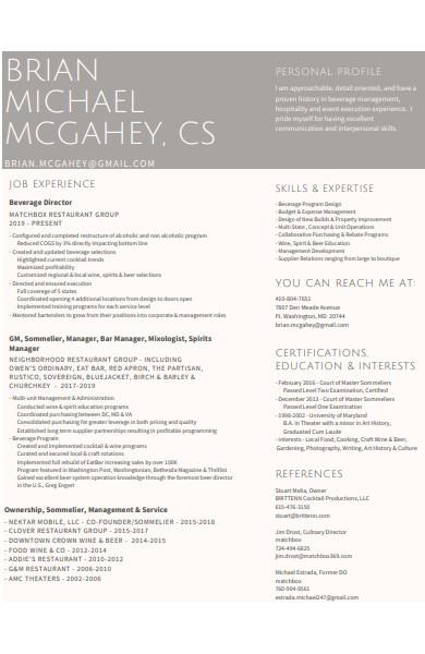 minimalist graphic designer resume