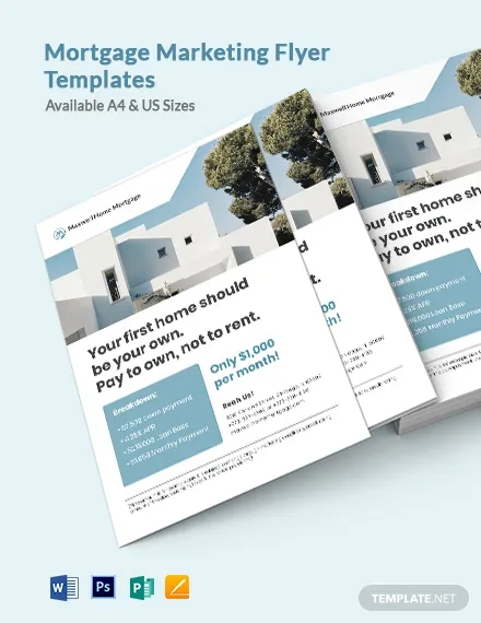 mortgage marketing flyer template1