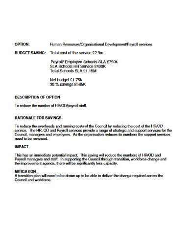 payroll budget in pdf