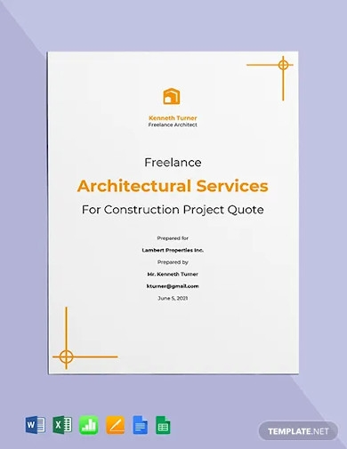 professional freelance project quotation