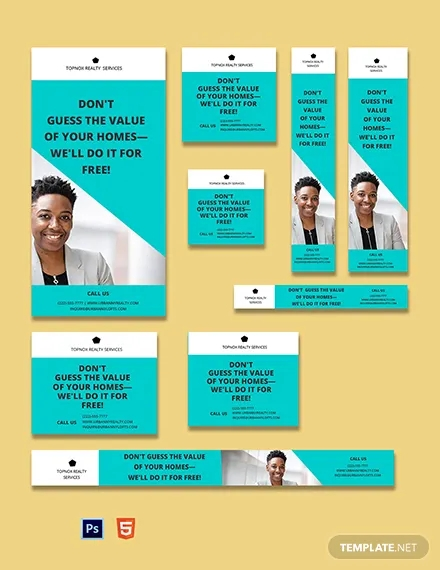 real estate agent ads template
