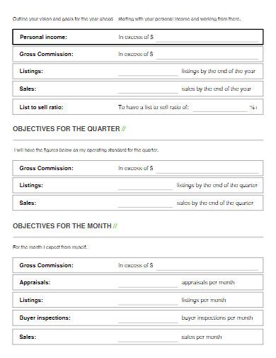 real estate business plan in pdf