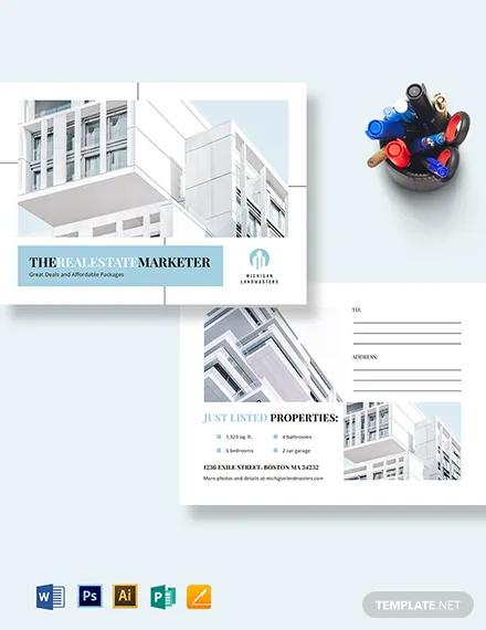 realtor postcard template
