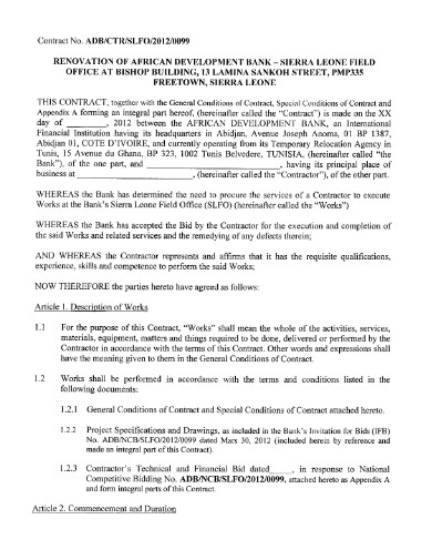 renovation contract in pdf