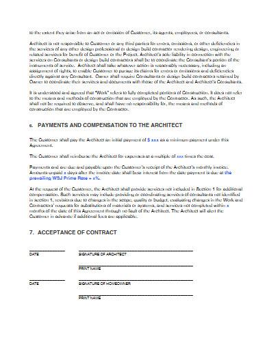 renovation design contract