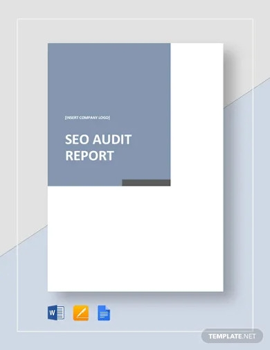 seo audit report template