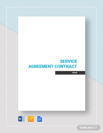 simple service agreement contract template