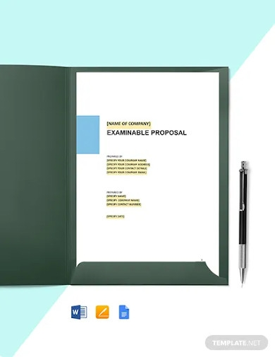 software maintenance proposal template