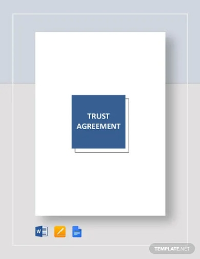trust agreement templates