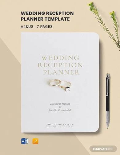 Wedding Planner Template Word from images.examples.com