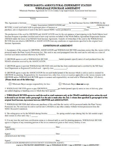 wholesale purchase agreement in pdf