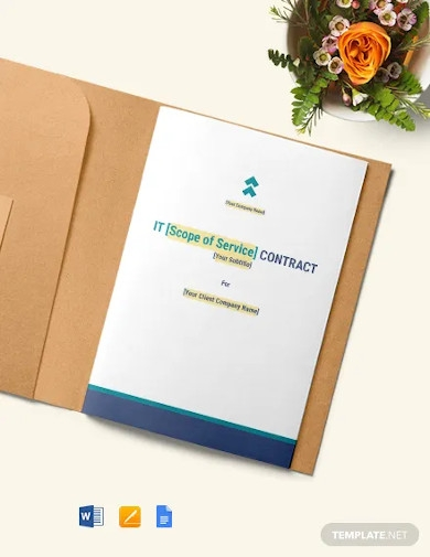 annual maintenance contract template for it services