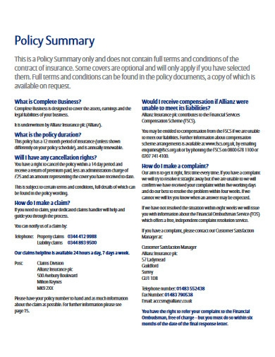 business policy in pdf