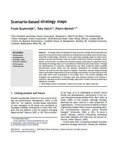 business strategy maps