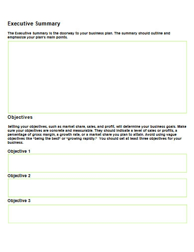 client sales business plan