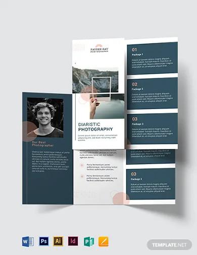 creative photography brochure template