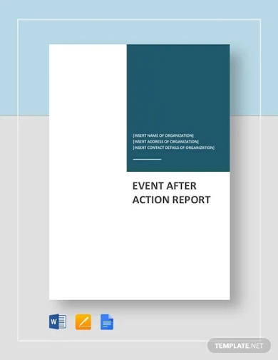 event after action report template