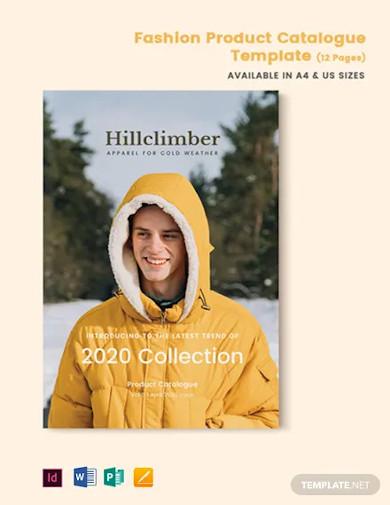 fashion product catalogue template