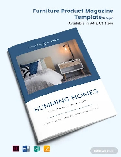 furniture product catalogue template