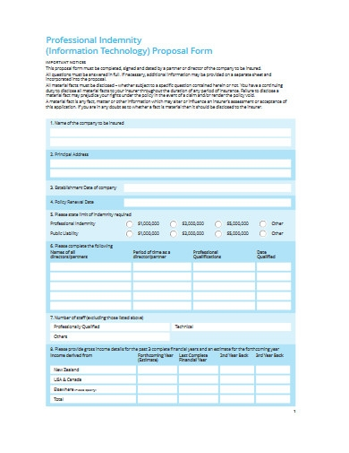 it proposal form example