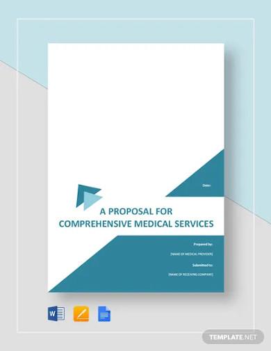medical proposal template