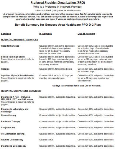 organization health care plan