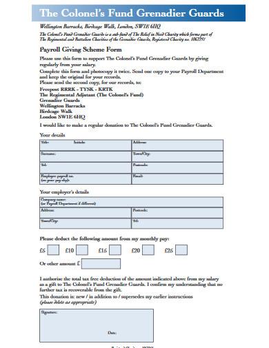 payroll form in pdf