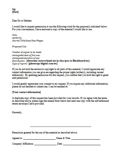 permission request letter example