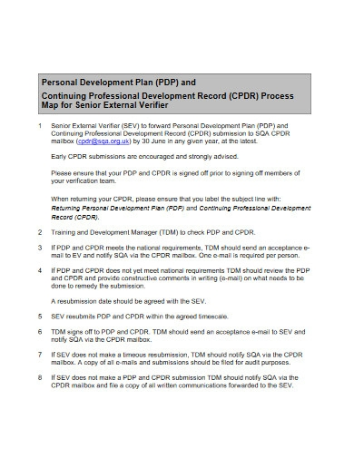 professional personal development plan