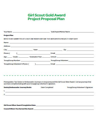 project proposal plan