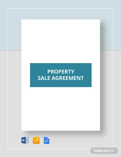 property sale agreement templates