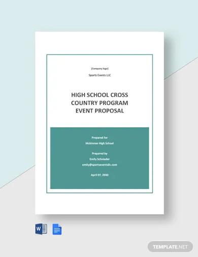school program proposal template
