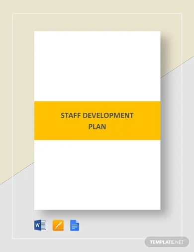 staff development plan template