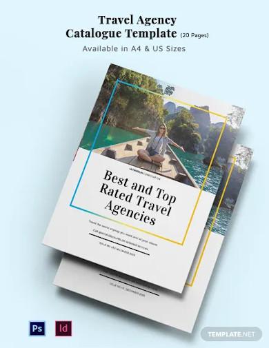 travel agency catalog template