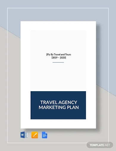 travel agency marketing plan template