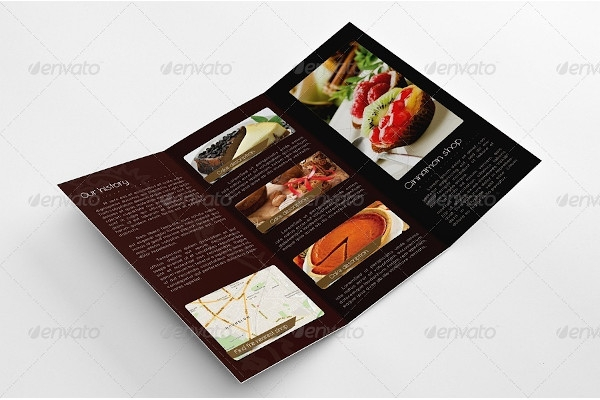 bakery confectionery brochure