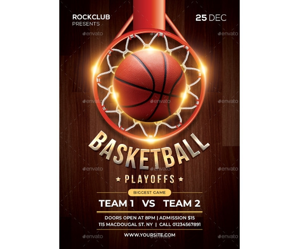 basketball flyer example