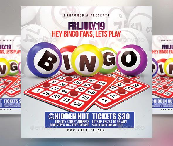 bingo flyer example