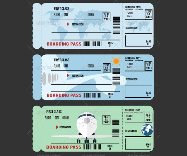 boarding pass example