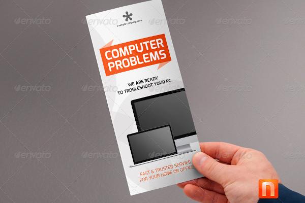 computer service brochure