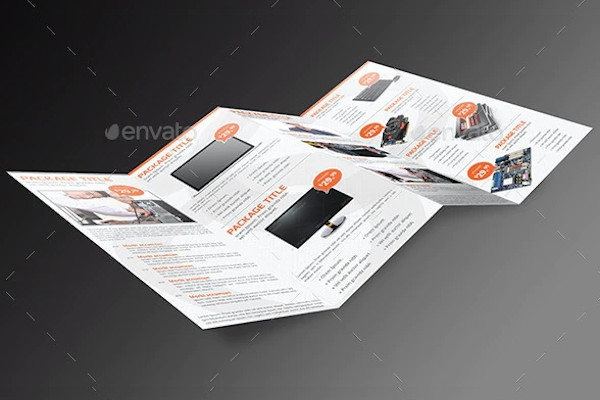 computer service panel brochure